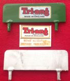 Tri-ang Junior Headboard finished in Green with front and rear decals.
